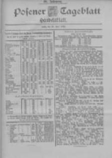 Posener Tageblatt. Handelsblatt 1900.06.28 Jg.39