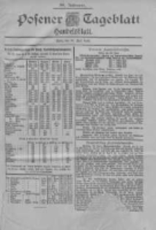 Posener Tageblatt. Handelsblatt 1900.06.30 Jg.39