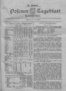 Posener Tageblatt. Handelsblatt 1900.07.10 Jg.39