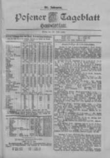 Posener Tageblatt. Handelsblatt 1900.07.12 Jg.39