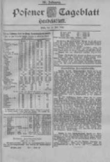 Posener Tageblatt. Handelsblatt 1900.07.14 Jg.39