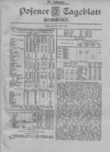 Posener Tageblatt. Handelsblatt 1900.07.20 Jg.39