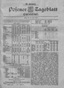 Posener Tageblatt. Handelsblatt 1900.07.23 Jg.39