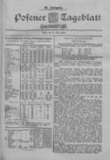 Posener Tageblatt. Handelsblatt 1900.07.24 Jg.39