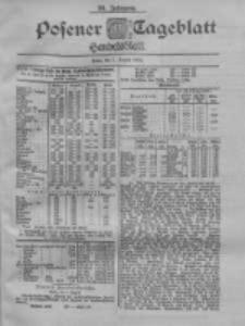 Posener Tageblatt. Handelsblatt 1900.08.01 Jg.39