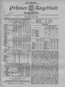 Posener Tageblatt. Handelsblatt 1900.08.06 Jg.39