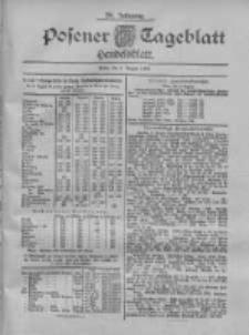 Posener Tageblatt. Handelsblatt 1900.08.09 Jg.39