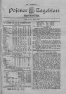 Posener Tageblatt. Handelsblatt 1900.08.11 Jg.39