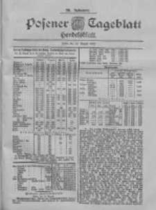 Posener Tageblatt. Handelsblatt 1900.08.13 Jg.39