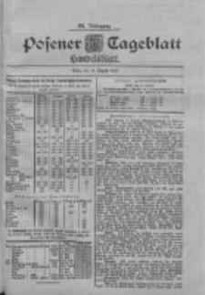 Posener Tageblatt. Handelsblatt 1900.08.14 Jg.39
