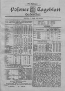 Posener Tageblatt. Handelsblatt 1900.08.17 Jg.39