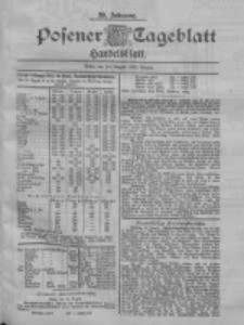 Posener Tageblatt. Handelsblatt 1900.08.18 Jg.39