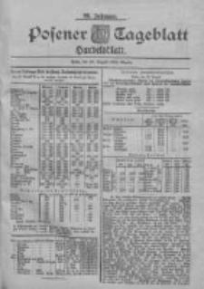 Posener Tageblatt. Handelsblatt 1900.08.22 Jg.39