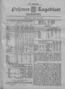 Posener Tageblatt. Handelsblatt 1900.08.24 Jg.39