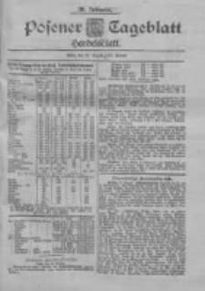 Posener Tageblatt. Handelsblatt 1900.08.25 Jg.39
