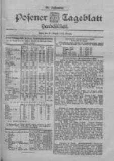 Posener Tageblatt. Handelsblatt 1900.08.30 Jg.39