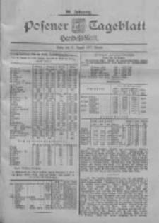 Posener Tageblatt. Handelsblatt 1900.08.31 Jg.39