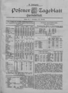 Posener Tageblatt. Handelsblatt 1900.09.07 Jg.39