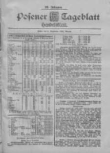 Posener Tageblatt. Handelsblatt 1900.09.08 Jg.39