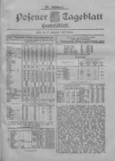 Posener Tageblatt. Handelsblatt 1900.09.10 Jg.39