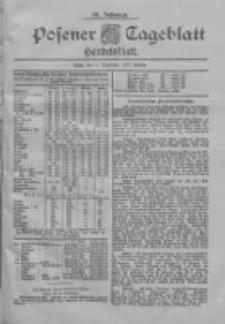 Posener Tageblatt. Handelsblatt 1900.09.11 Jg.39