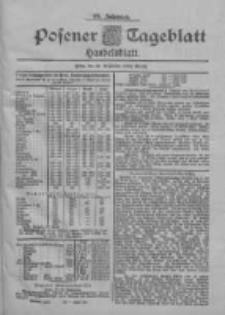 Posener Tageblatt. Handelsblatt 1900.09.22 Jg.39