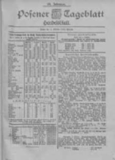Posener Tageblatt. Handelsblatt 1900.10.04 Jg.39