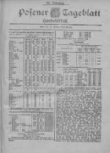 Posener Tageblatt. Handelsblatt 1900.10.15 Jg.39