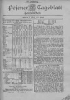 Posener Tageblatt. Handelsblatt 1900.10.27 Jg.39