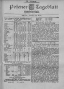 Posener Tageblatt. Handelsblatt 1900.11.01 Jg.39
