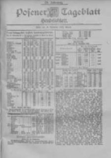 Posener Tageblatt. Handelsblatt 1900.11.14 Jg.39