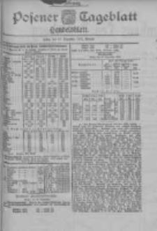 Posener Tageblatt. Handelsblatt 1900.12.10 Jg.39