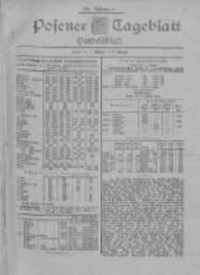 Posener Tageblatt. Handelsblatt 1900.10.01 Jg.39