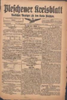 Pleschener Kreisblatt: Amtlicher Anzeiger für den Kreis Pleschen 1916.01.05 Jg.64 Nr2