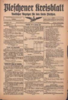 Pleschener Kreisblatt: Amtlicher Anzeiger für den Kreis Pleschen 1916.01.12 Jg.64 Nr4