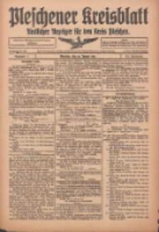 Pleschener Kreisblatt: Amtlicher Anzeiger für den Kreis Pleschen 1916.01.22 Jg.64 Nr7