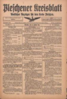 Pleschener Kreisblatt: Amtlicher Anzeiger für den Kreis Pleschen 1916.01.29 Jg.64 Nr9