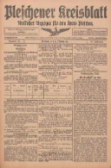 Pleschener Kreisblatt: Amtlicher Anzeiger für den Kreis Pleschen 1916.02.16 Jg.64 Nr14