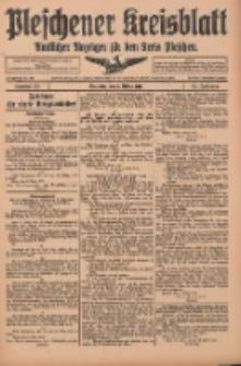 Pleschener Kreisblatt: Amtlicher Anzeiger für den Kreis Pleschen 1916.03.08 Jg.64 Nr20