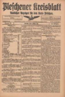 Pleschener Kreisblatt: Amtlicher Anzeiger für den Kreis Pleschen 1916.03.11 Jg.64 Nr21