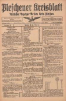 Pleschener Kreisblatt: Amtlicher Anzeiger für den Kreis Pleschen 1916.03.15 Jg.64 Nr22