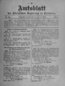 Amtsblatt der Königlichen Preussischen Regierung zu Bromberg. 1908.03.12 No.11