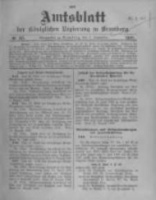 Amtsblatt der Königlichen Preussischen Regierung zu Bromberg. 1908.09.03 No.36
