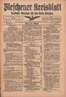 Pleschener Kreisblatt: Amtlicher Anzeiger für den Kreis Pleschen 1916.04.05 Jg.64 Nr28