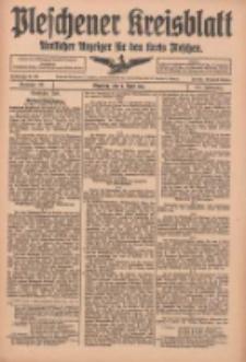 Pleschener Kreisblatt: Amtlicher Anzeiger für den Kreis Pleschen 1916.04.08 Jg.64 Nr29