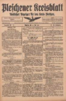 Pleschener Kreisblatt: Amtlicher Anzeiger für den Kreis Pleschen 1916.04.12 Jg.64 Nr30