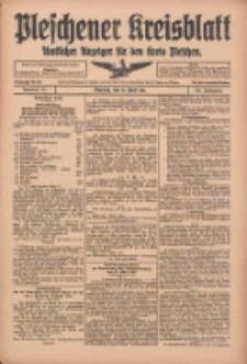 Pleschener Kreisblatt: Amtlicher Anzeiger für den Kreis Pleschen 1916.04.15 Jg.64 Nr31