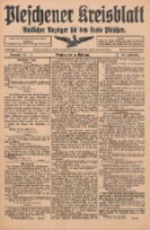 Pleschener Kreisblatt: Amtlicher Anzeiger für den Kreis Pleschen 1916.04.29 Jg.64 Nr35