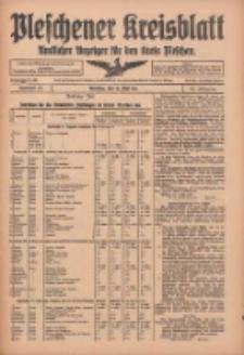 Pleschener Kreisblatt: Amtlicher Anzeiger für den Kreis Pleschen 1916.05.10 Jg.64 Nr38