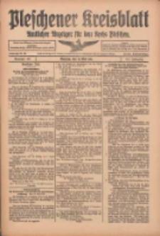 Pleschener Kreisblatt: Amtlicher Anzeiger für den Kreis Pleschen 1916.05.17 Jg.64 Nr40